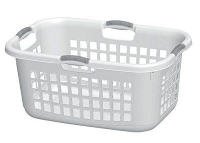 STERILITE Corp 12168006 Laundry Basket White 2Bshl
