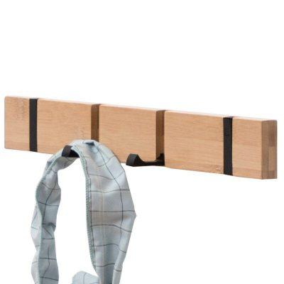 Fashion Home Decor Nailless Folding Coat Hook Hallway