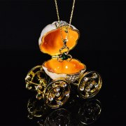 QIFU handicrafts The pumpkin carriage jewelry boxes