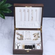 Wooden Jewelry Box Women with Lock