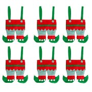 Treat Santa PantS Portable Gift Wrap Baskets