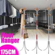 Hat Display Stand Floor Coat Rack Multi Hooks