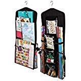 Aotuno Double-Sided Hanging Gift Wrap Organizer Storage bag