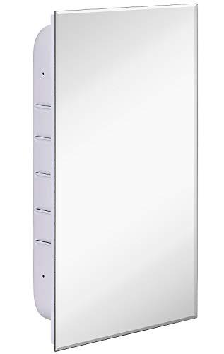 Hamilton Hills Simple Recessed Medicine Cabinet with Mirror