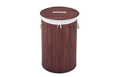 COZAYH 72L All-Natural Bamboo Laundry Hamper with Lid