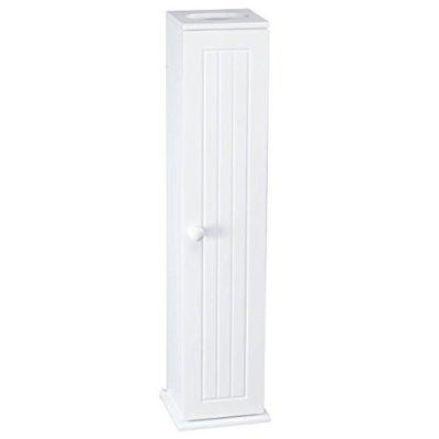 OakRidge Miles Kimball White Compact Toilet Tissue Storage Tower