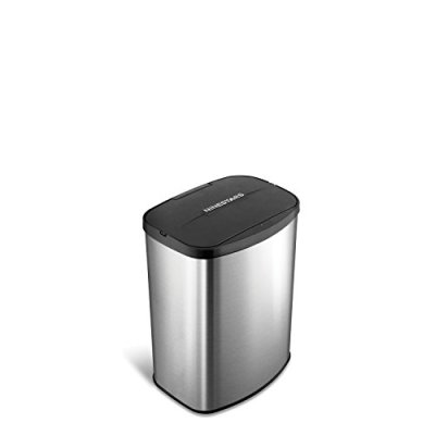 Infrared Touchless Stainless Steel Trashcan