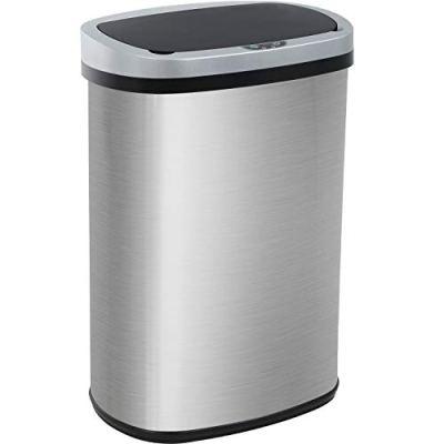 13 Gallon 50 Liter Kitchen Trash Can for Bathroom
