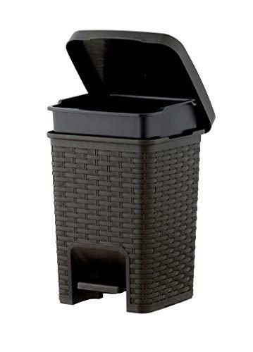 Superio Square Pedal Trash Can 7.5 Qt