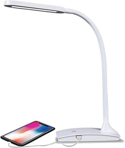 TW Lighting The IVY LED Desk Lamp with USB Port