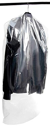 50-Pack Garment Dry Cleaning Cover Bags