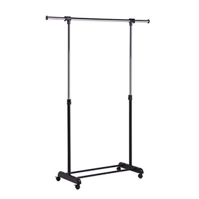 Honey-Can-Do Height-Adjustable Rolling Garment Rack