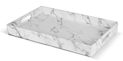 "Home Redefined Beautiful Modern Elegant 18""x12"" Rectangle Marble"