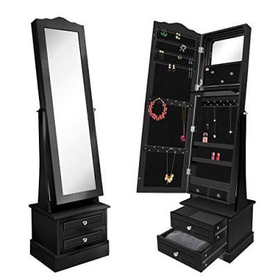 Storage Cabinets, 360 Rotating Jewelry Organizer