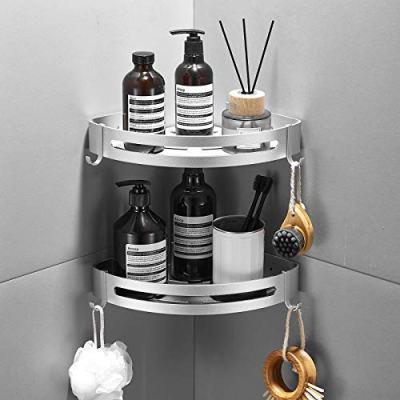 Delysia king 2-Pack Corner Shower Caddy,Bathroom Shelf Wall Mounted