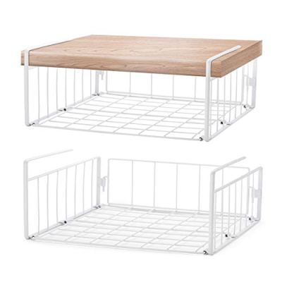 SimpleTrending Under Cabinet Organizer Shelf, 2 Pack
