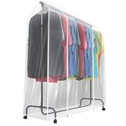 Sorbus Garment Rack Cover for Dresses, Suits, Coats, and More