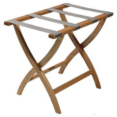 Wooden Mallet Designer Curve Leg Luggage Rack