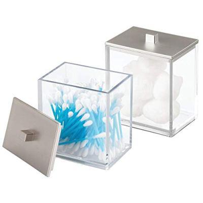 Vanity Countertop Storage Organizer Canister