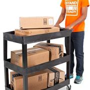 Stand Steady Tubstr 3 Shelf Utility Cart