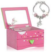 Unicorn Jewelry Box For Girls - Two Unicorn Gifts
