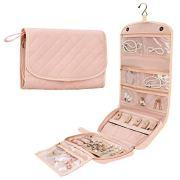 Foldable Jewelry Roll Bag Jewelry Organizer Case