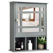 Bathroom Wall Mounted Storage Cabinet with Adjustable Shelf