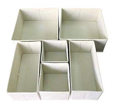 Foldable Cloth Storage Box Closet Dresser for Underwear, Bras, Socks
