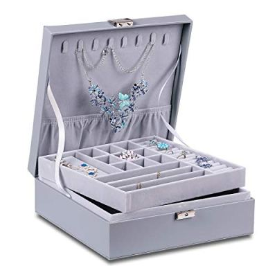 Large Lockable Display Jewelry Holder