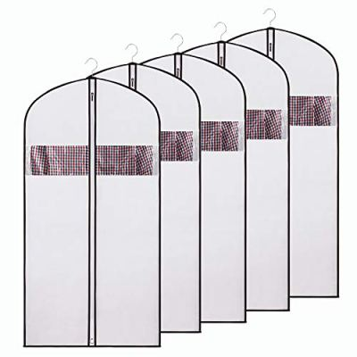 Zilink Garment Bags Suit Bag for Storage 54 inches