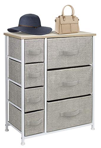 Sorbus Dresser with Drawers - Furniture Storage Tower