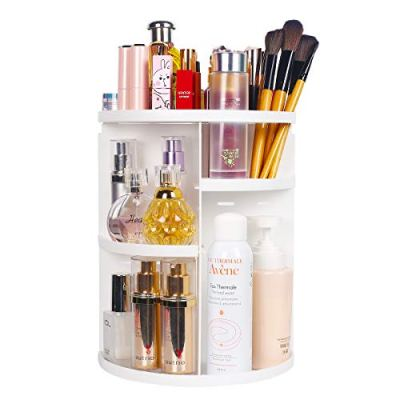360 Makeup Organizer Large Capacity Makeup Box Acrylic