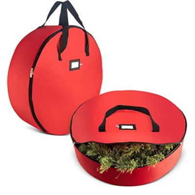 "2-Pack Christmas Wreath Storage Bag 36"" - Artificial Wreaths"