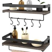Wall Mounted Floating Shelves for Kitchen, Bathroom