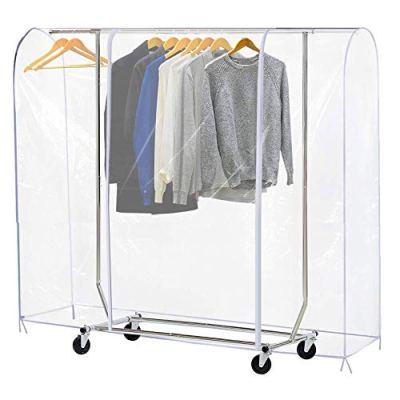 Ruibo Clear Garment Rack Cover Dustproof Clothes