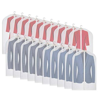 Univivi Clear Garment Bag Breathable Dust Cover