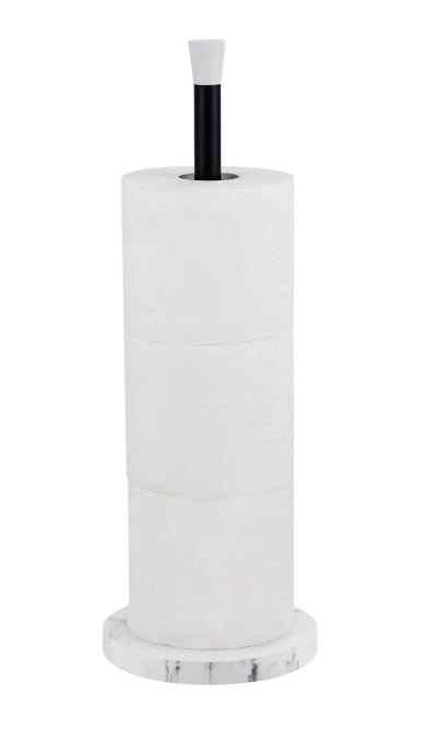 zccz Free Standing Toilet Paper Holder, Bathroom Toilet Tissue Roll