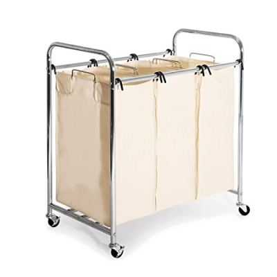 Heavy-Duty Laundry Hamper Sorter