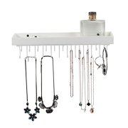 JACKCUBE DESIGN Hanging Jewelry Organizer with 23 Hook