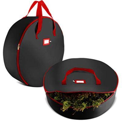 "2-Pack Christmas Wreath Storage Bag 30"""