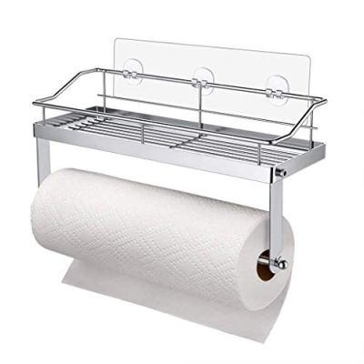 Iusun Self-Adhesive Paper Towel Holder,12.6 inch x 4.3 inch x 2.8 inch