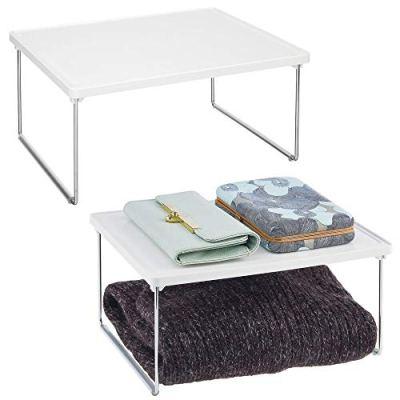 mDesign Modern Metal Closet, Cabinet