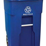 32Gal Wheel Recycle Bin