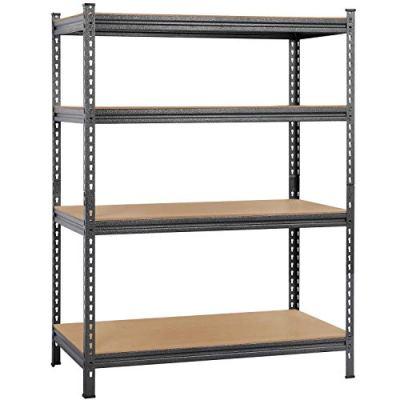 Topeakmart Heavy Duty 4 Level Garage Shelf Steel