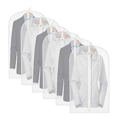 Dust Cover with Full Zipper for Suit Jacket