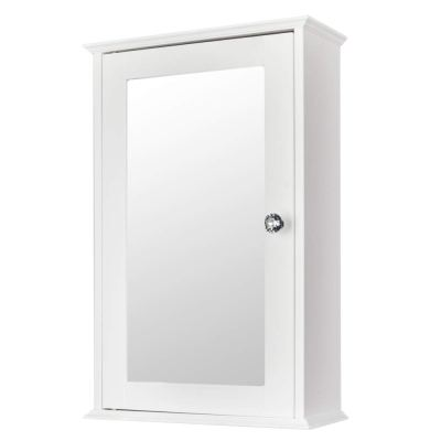Bonnlo Bathroom Cabinet Wall Mount Mirrored