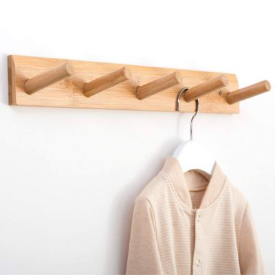 Modern Wall Mounted Coat and Hat Rack