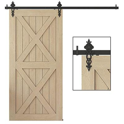 WINSOON Interior Sliding Barn Door Hardware Kit