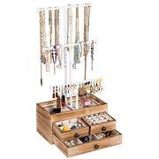 X-cosrack Jewelry Tree Stand Organizer 3 Tier