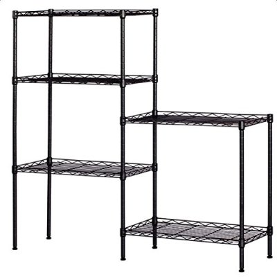 aAugust Tennyson Microwave Stand 5-Tier Wire Storage